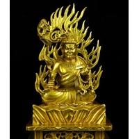 Fudo Myoo Traditionnel bronze doré