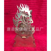 2.Statutte-bronze-argenté-fudo-myo-nin-jutsu-shugendo-bouddha-japon (2)