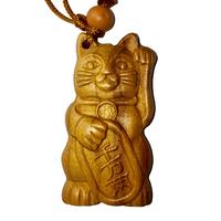 Amulette Chat porte-bonheur : Maneki Neko