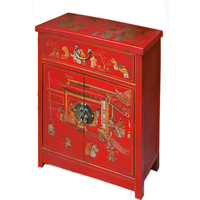 Meuble chinois rouge collection Ming