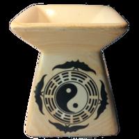 Brûleur huile pa kua  yin yang