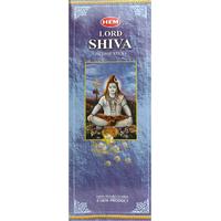 6 boîtes d'encens : Shiva