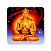 Lot de 4 sous verre Bouddha