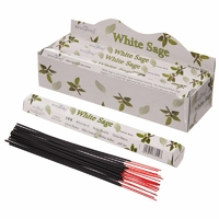 Grosse boite : 6 paquets d'Encens de Purification Sauge blanche