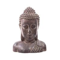 Buste de Bouddha effet bronze