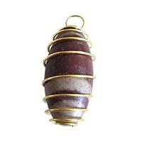 Pendentif amulette Shiva lingam