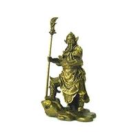 Kwan Kung, dieu de la richesse en bronze