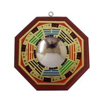 Miroir Pa Kua concave, protection Feng shui
