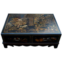 Table basse quatre tiroirs Nuit de Chine