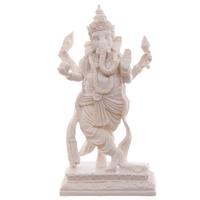 Ganesh blanc dansant