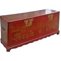 Grand coffre chinois Cité Xian