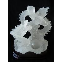 Dragon effet cristal blanc