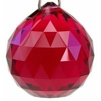 Boule de cristal rouge : Feu yin