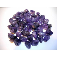 Lot de 10 agates violettes : protection & spiritualité