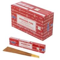 Lot de 12 boîtes d'encens Nag Champa Dragons Fire