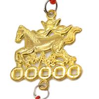 Amulette du cheval de victoire Or