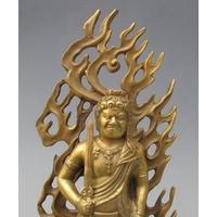 Fudo Myoo bronze doré