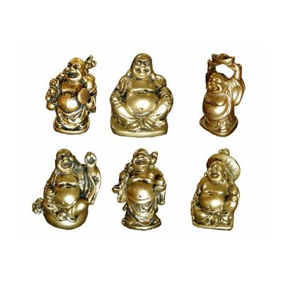 Bouddhas des six bonheurs dorés