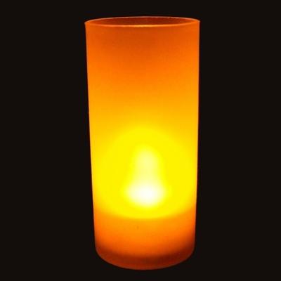 Bougie Photophore à led couleur flamme AVEC fonction Souffler