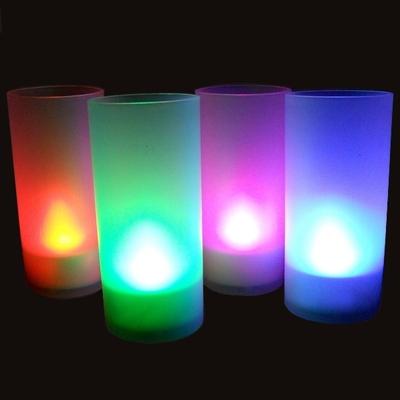 Bougie Photophore à led multicolore AVEC fonction Souffler