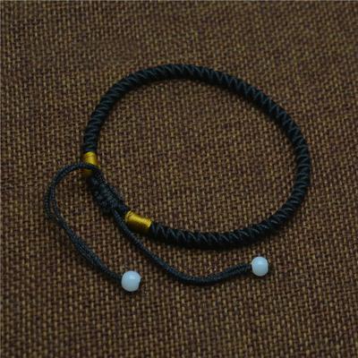 Bracelet de la chance noir