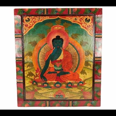 Tableau Traditionnel : Bouddha Médecine