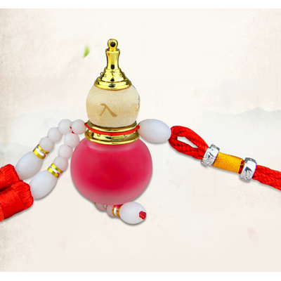 Amulette wu lou Rouge : santé & richesse