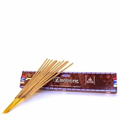 12 Bâtonnets Encens Satya Nag Champa Emotions