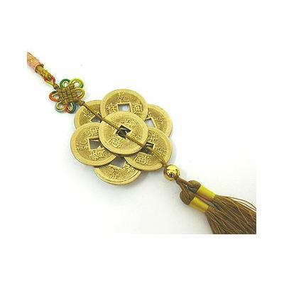 Amulette spéciale période 8 en bronze doré