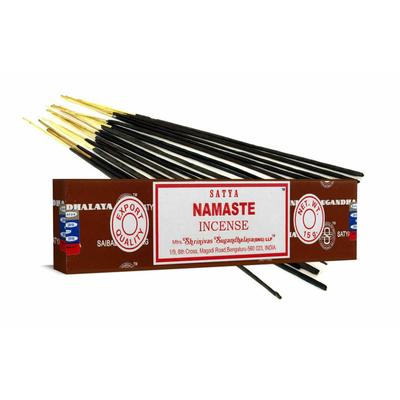 12 Bâtonnets Encens Satya Nag Champa  Namaste