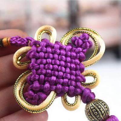 Amulette Noeud de l'infini : Feng Shui de l'étoile 9