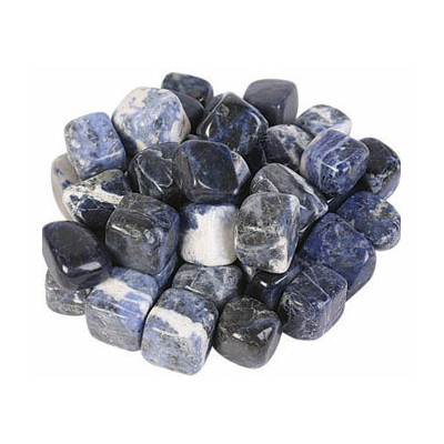 Lot de 8 pierres de sodalite