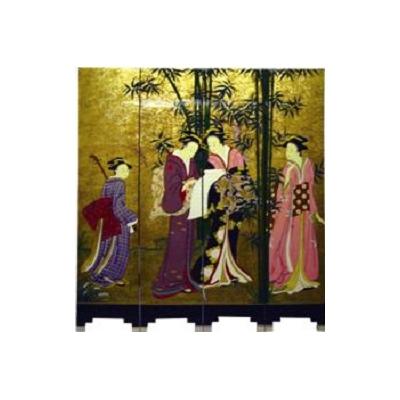 Paravents geisha : poème amoureux