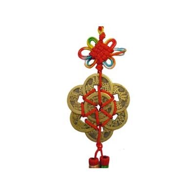 Amulette spéciale période 8 en bronze