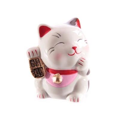 Maneki neko du bonheur et de la félicité