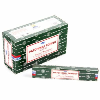 Lot de 12 boites dencens Nag Champa Patchouli