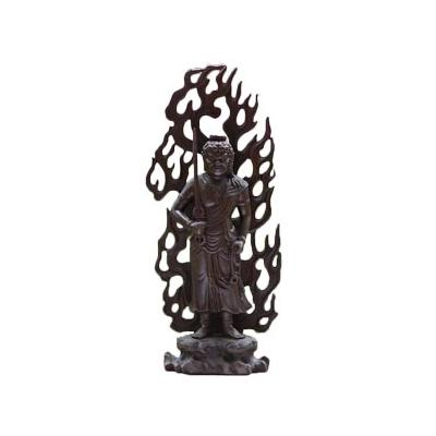 Fudo Myoo debout en bronze