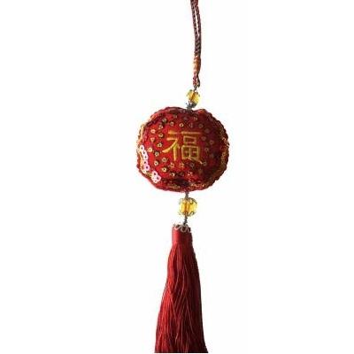 Amulette chinoise : bonheur
