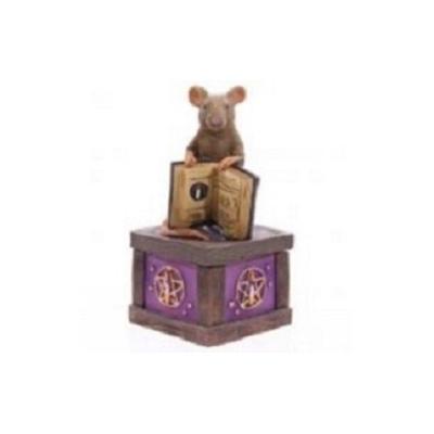 Boîte souris magique style Harry Potter