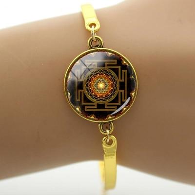 1.Bracelet-Sri-Yantra-Bracelet-Femmes-Magie-indien-yoga-Charme-amulette