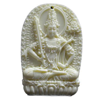 1.Manjushri-talisman-magie-bouddha-amulette-