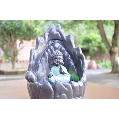 1.Fontaine bouddha 30 cm avec encens