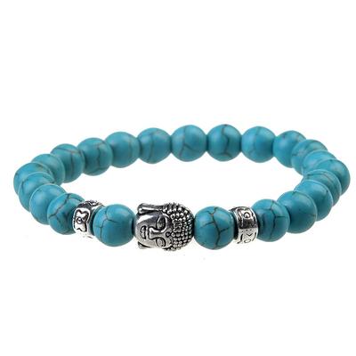 Bracelet du Bouddha Turquoise
