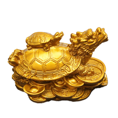 1.-Or-Feng-Shui-Dragon-Tortue-Tortue-richesse-carriere