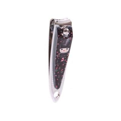 Coupe-ongles kokeshi noir