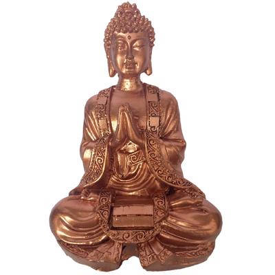 Bouddha Cuivre mains en prières
