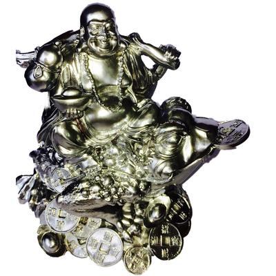 Bouddha et grenouille de richesse Argent