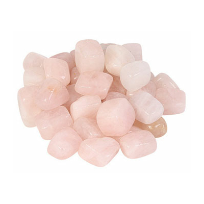Jeu de 8 pierres de quartz rose
