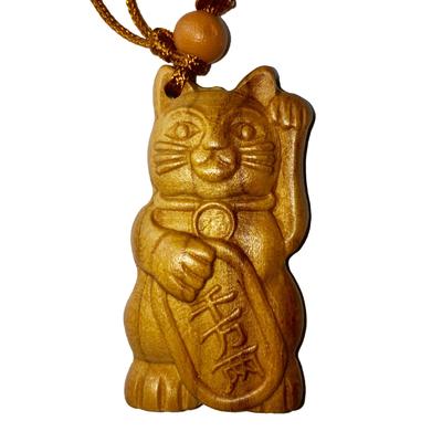 1.amulette chat japonais Maneki neko