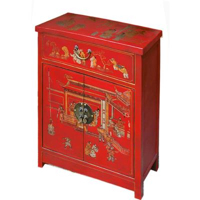 Petit-meuble-chinois-rouge